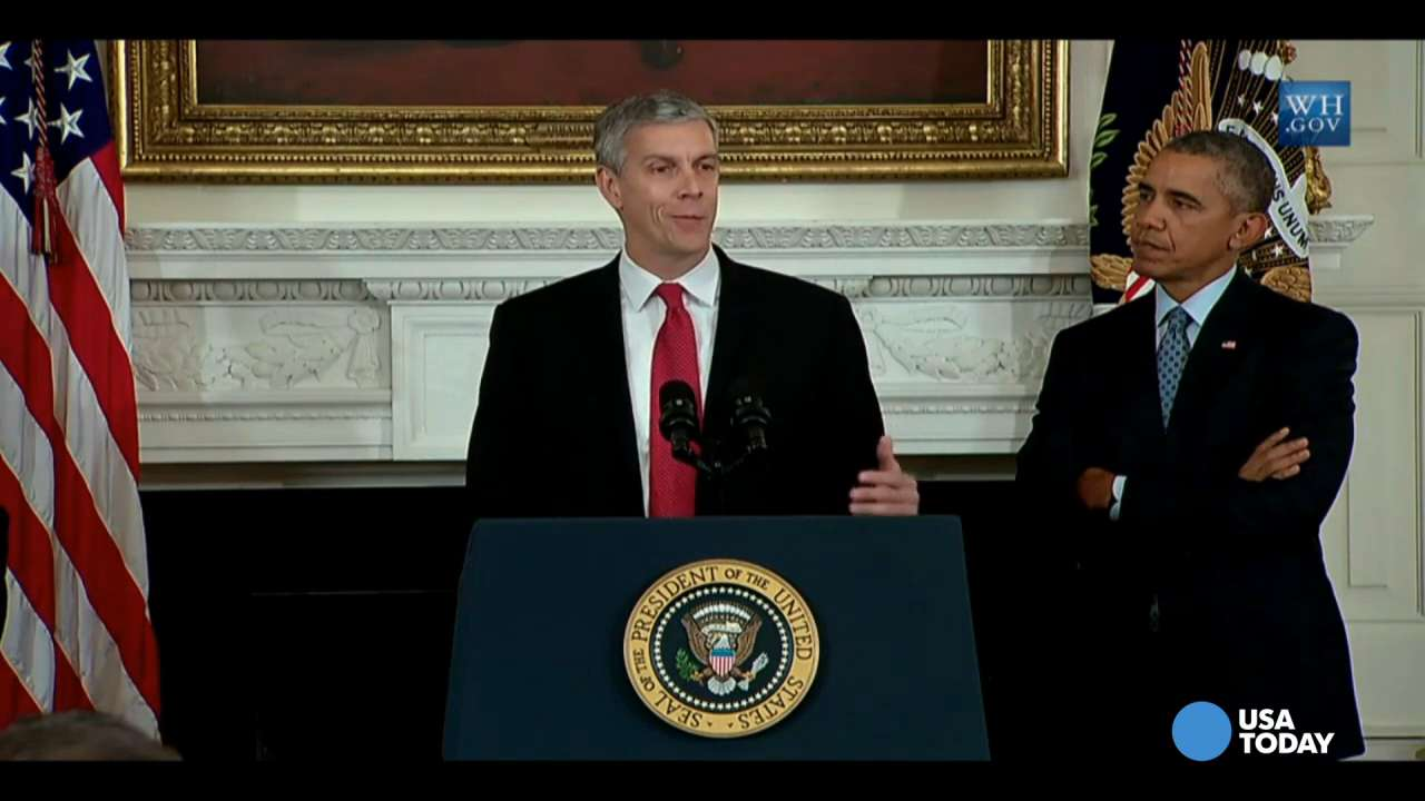 Education Secretary Arne Duncan steps down