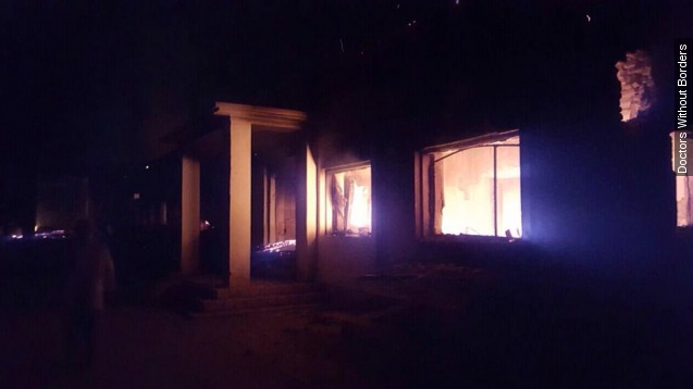 An Afghanistan hospital may have been bombed by U.S.