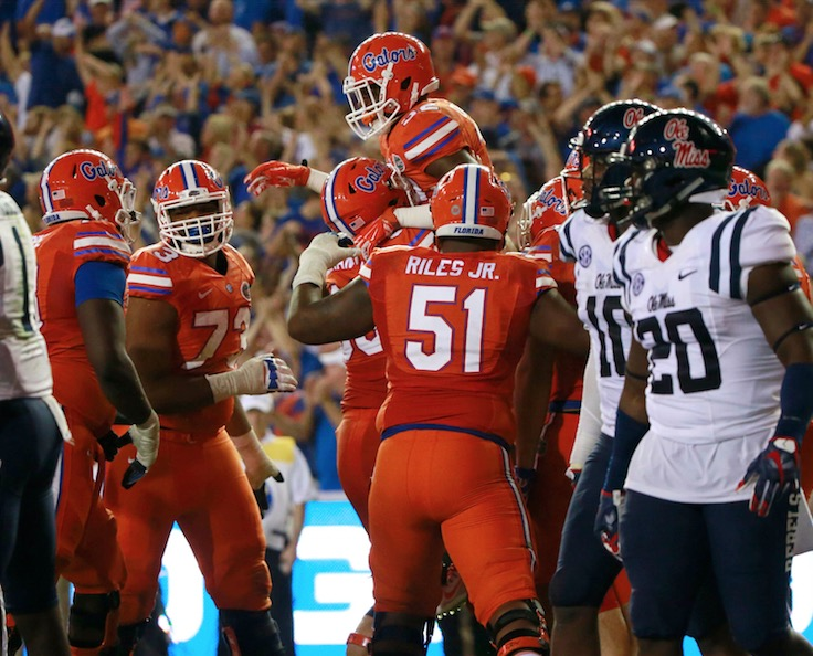 Week 5 Amway Coaches Poll: Florida becoming a factor