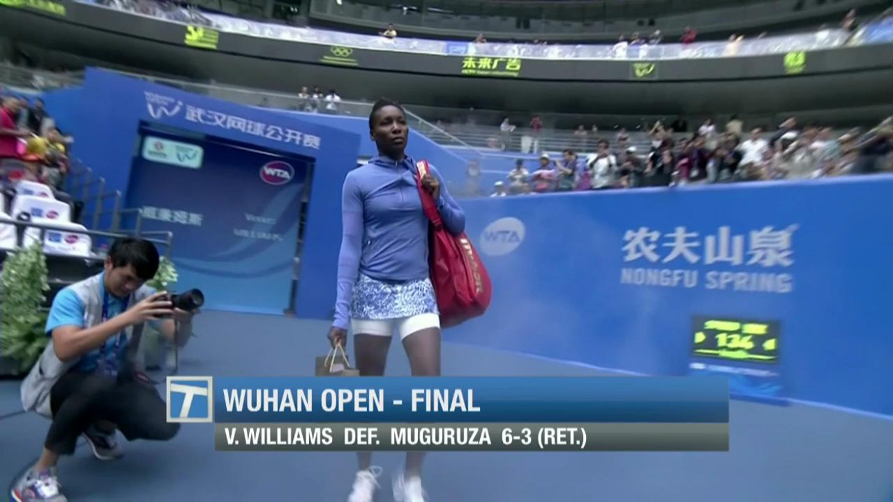 Tennis Channel breaks down David Ferrer's win in the Malaysian Open Final and Venus Williams' claiming of her 47th WTA crown at the Wuhan Open.