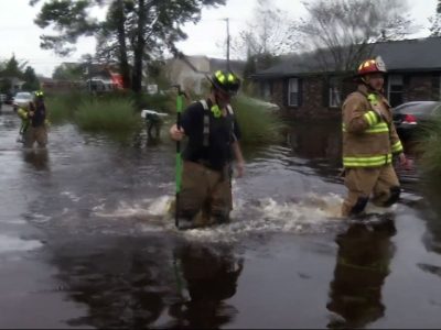 Dozens rescued in flooded South Carolina