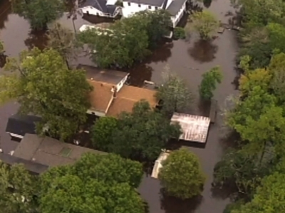 Raw:  SC Hit Hard By Driving Rains And Flooding