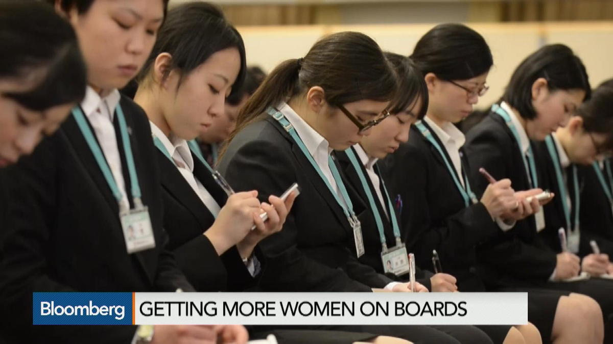 The benefits of having women on boards