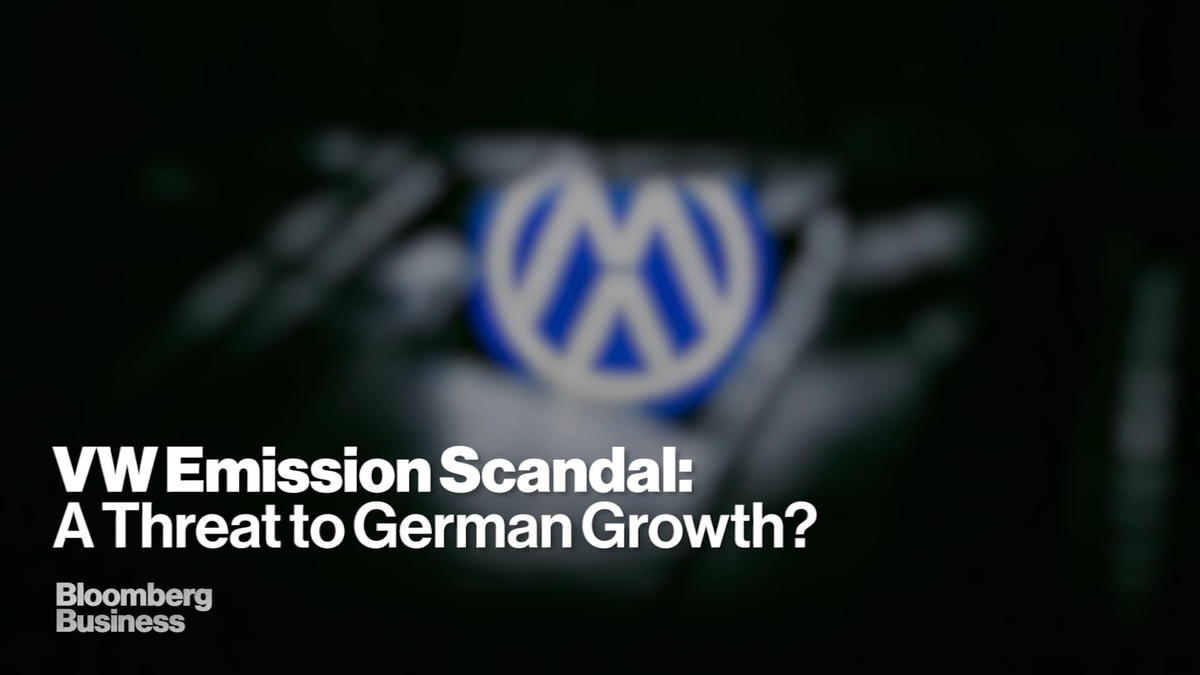 Could VW's diesel dupe push German growth off the road?