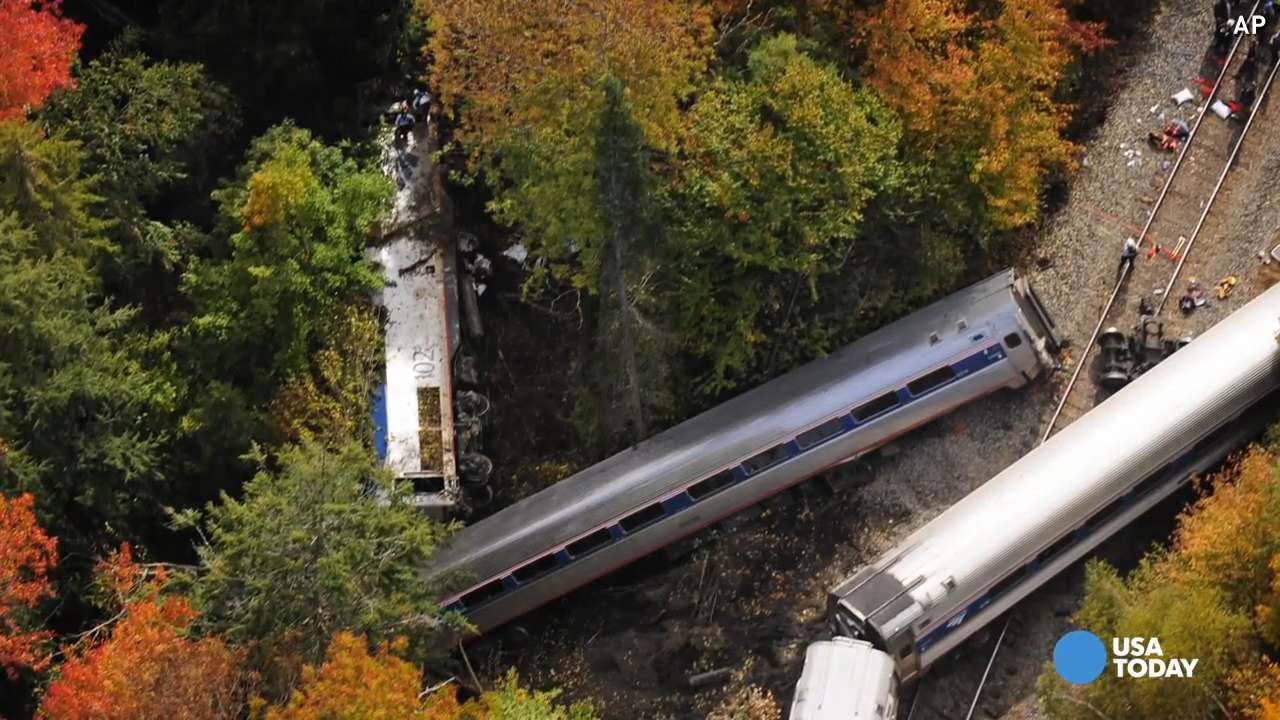 Amtrak derailment survivor: We were shaken around