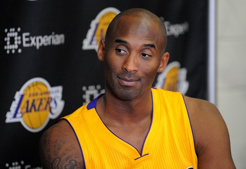 Lakers have high hopes for Kobe Bryant