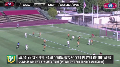 Video | Women's Soccer Player of the Week | October 5, 2015