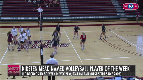 Video | Volleyball Player of the Week | October 5, 2015
