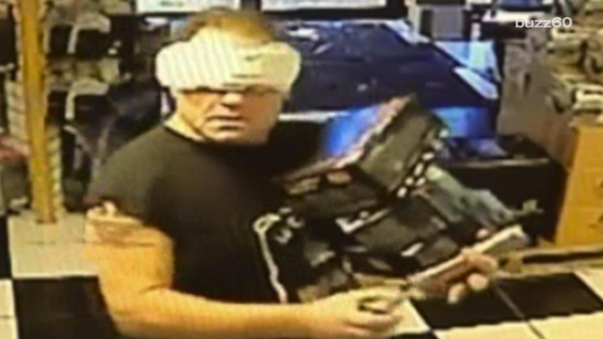 'Maxi-Pad Bandit' caught after feminine hygiene product disguise fails