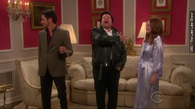Moore, Stamos Channel Taylor Swift For hilarious soap opera