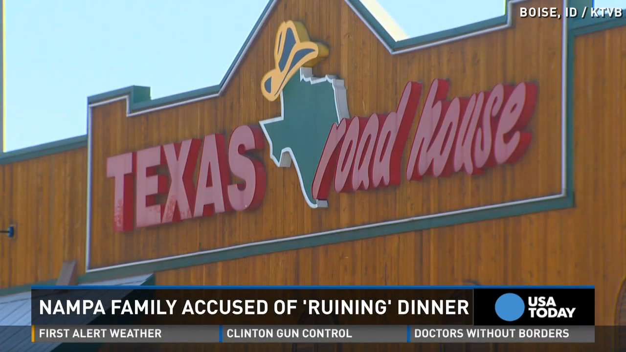 Diners pass note to mom: Screaming kid ruined our meal