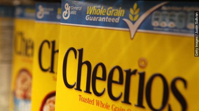 Recall issued over not-so Cheerios