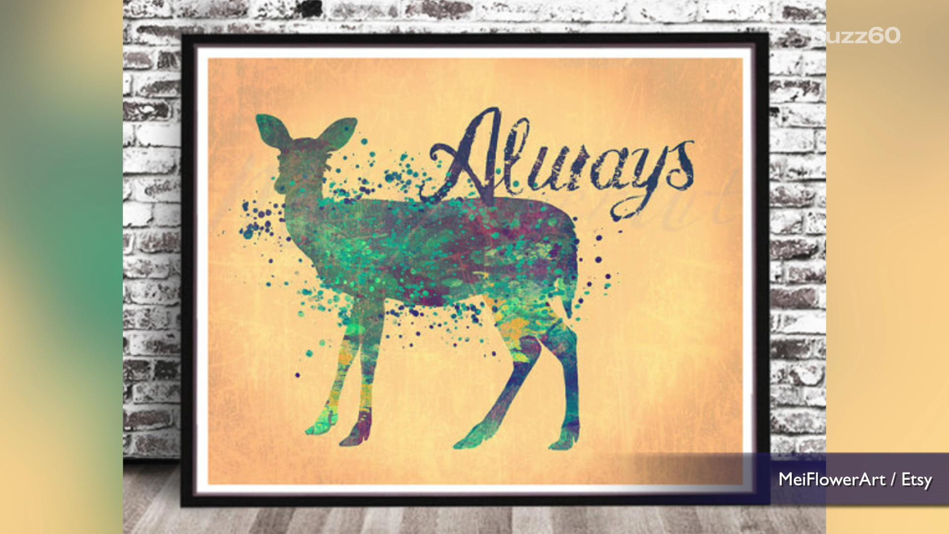 Harry Potter inspired home decor from Etsy that even Muggles will love