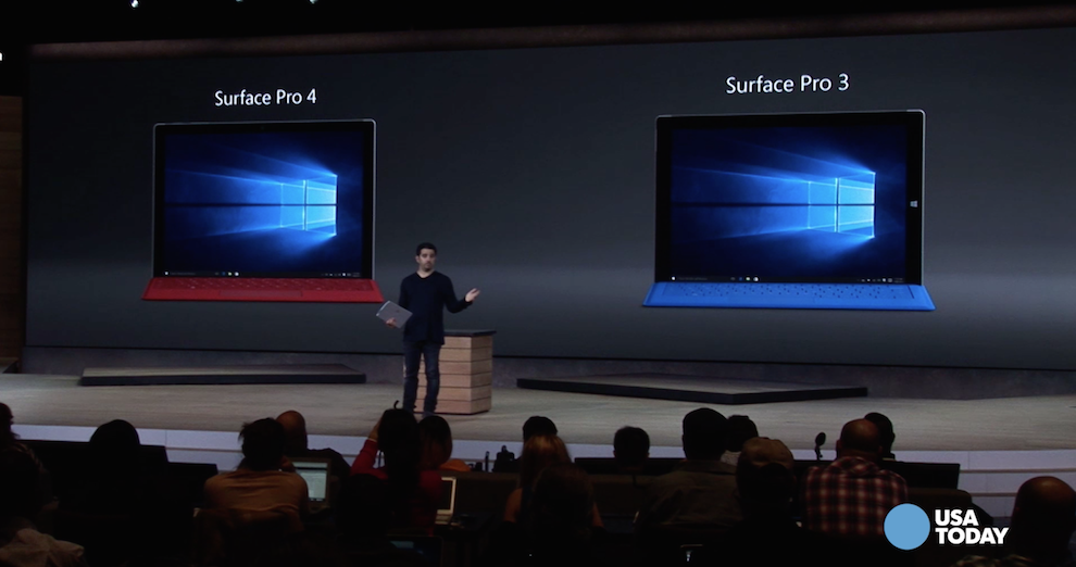 A first-look at Surface Pro 4