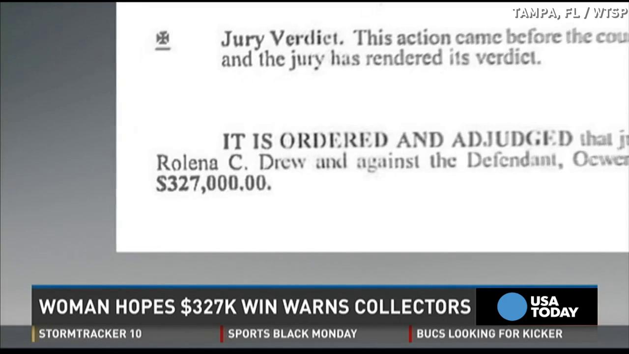 Woman wins $327K after harrassed by bill collectors