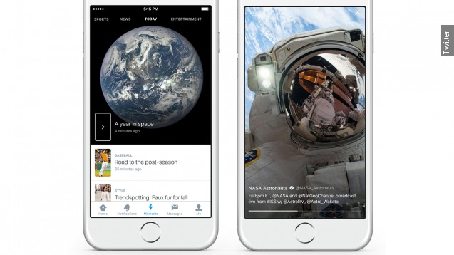 Twitter debuts Moments to appeal to newbies