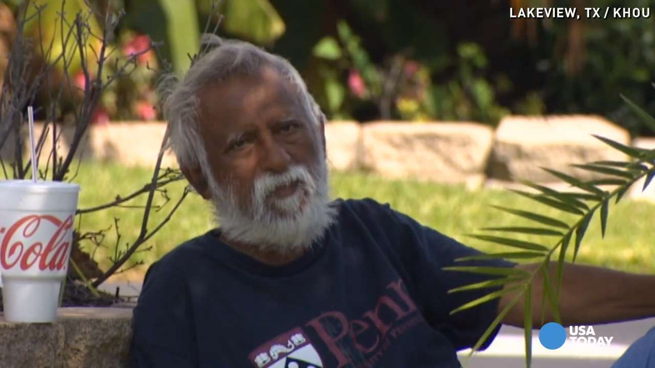 Man lives in front yard of his million dollar home