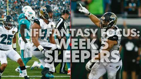 NFL Fantasy Focus: Week 5 sleepers