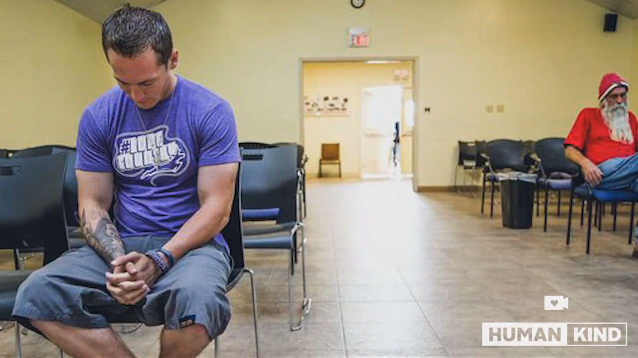 He was on heroin and wanted to die, then this happened