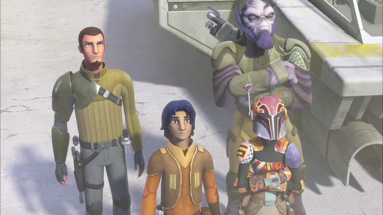 "Kanan (voiced by Freddie Prinze Jr.) and the crew of the Ghost meet some new allies in an exclusive clip from the upcoming season of Disney XD's ""Star Wars Rebels."""