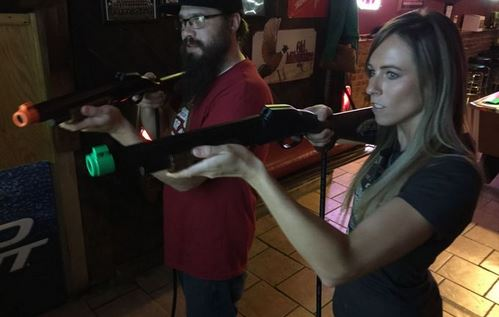 'Big Buck Hunter' world champ is star of her bar