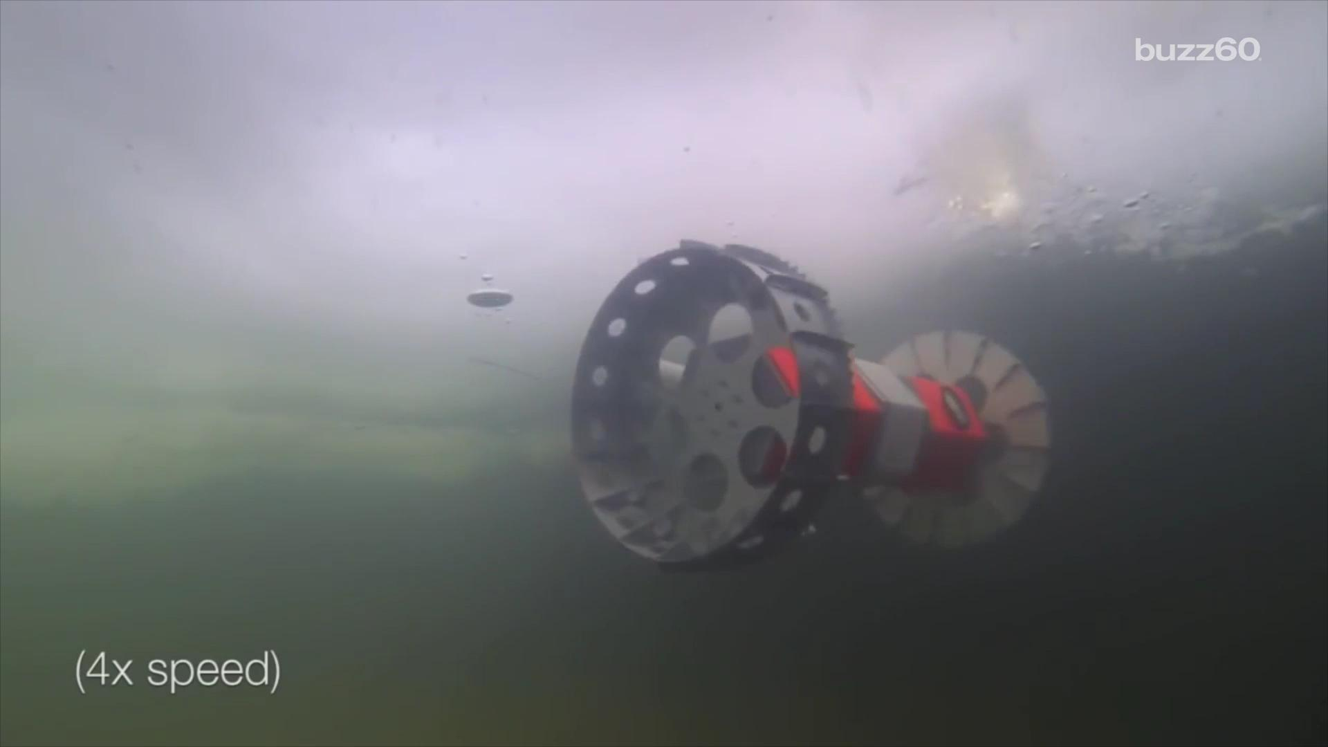 NASA tests rover designed to inspect Extraterrestrial Oceans