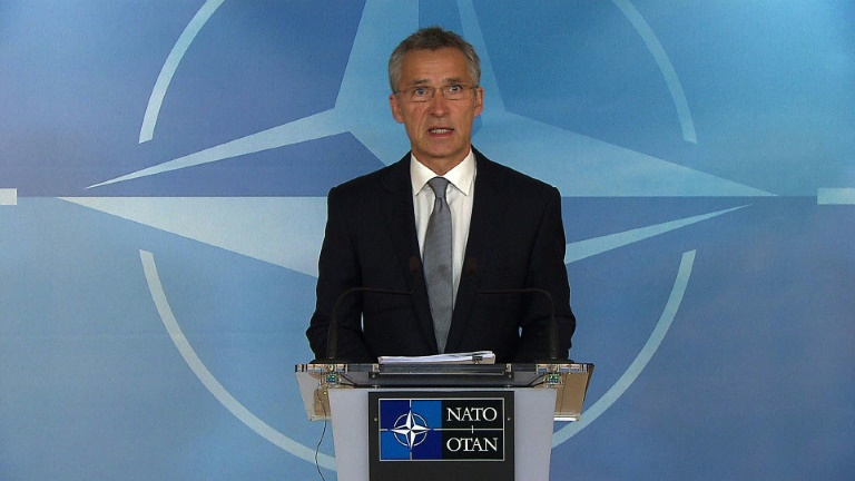NATO says Russian escalation in Syria 'troubling'