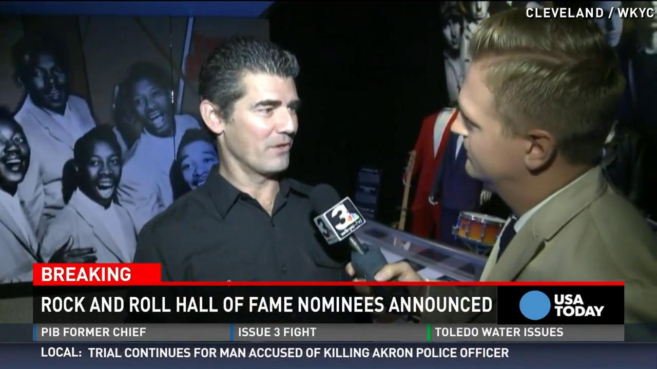 Who will be inducted into the Rock Hall in 2016?