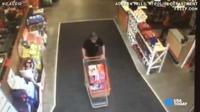 Woman fired gun at this shoplifter while he ran away