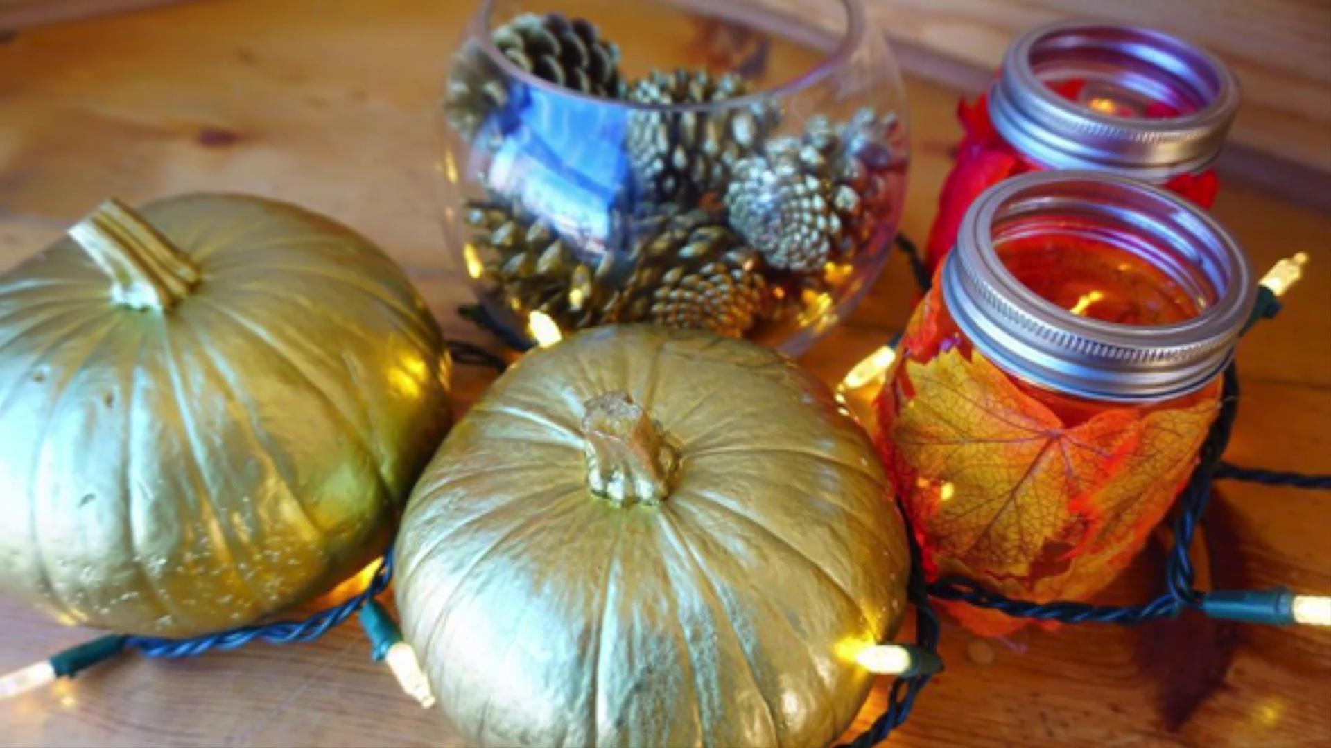Get crafty with these DIY ideas for fall