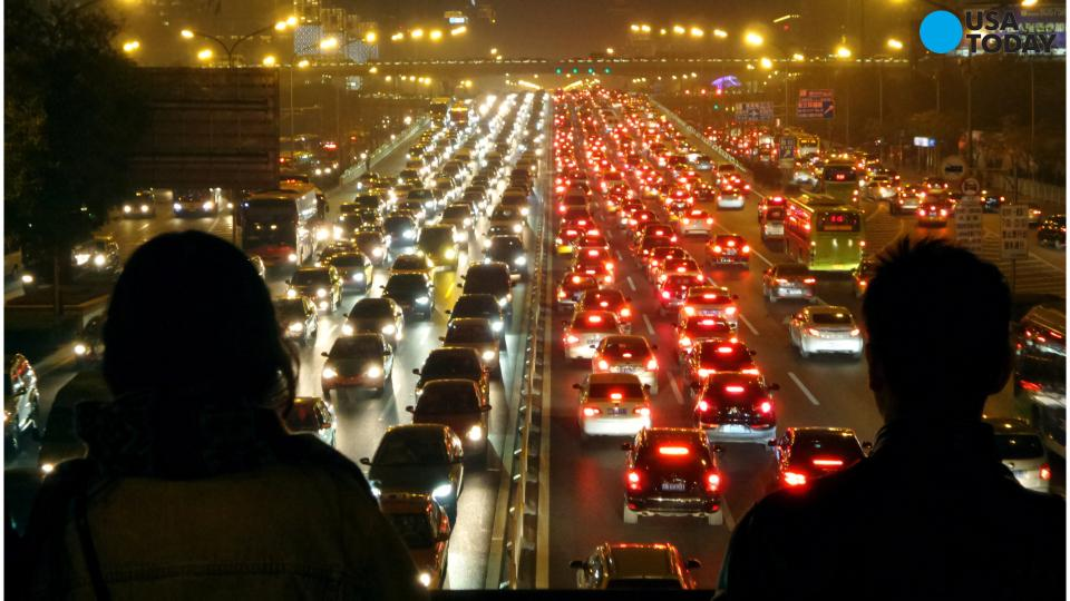 China's 50-Lane Traffic Jam Is Every Commuter's Worst Nightmare