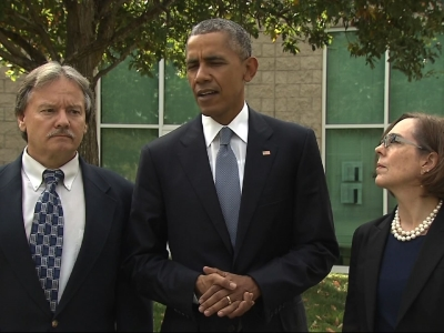 Obama Meets with Shooting Victims' Families