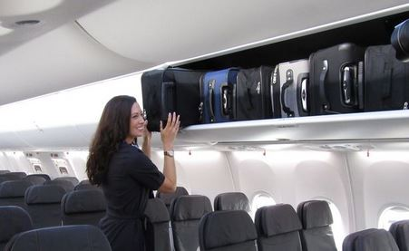 Boeing's new 'Space Bins' fit 50 percent more carry-ons