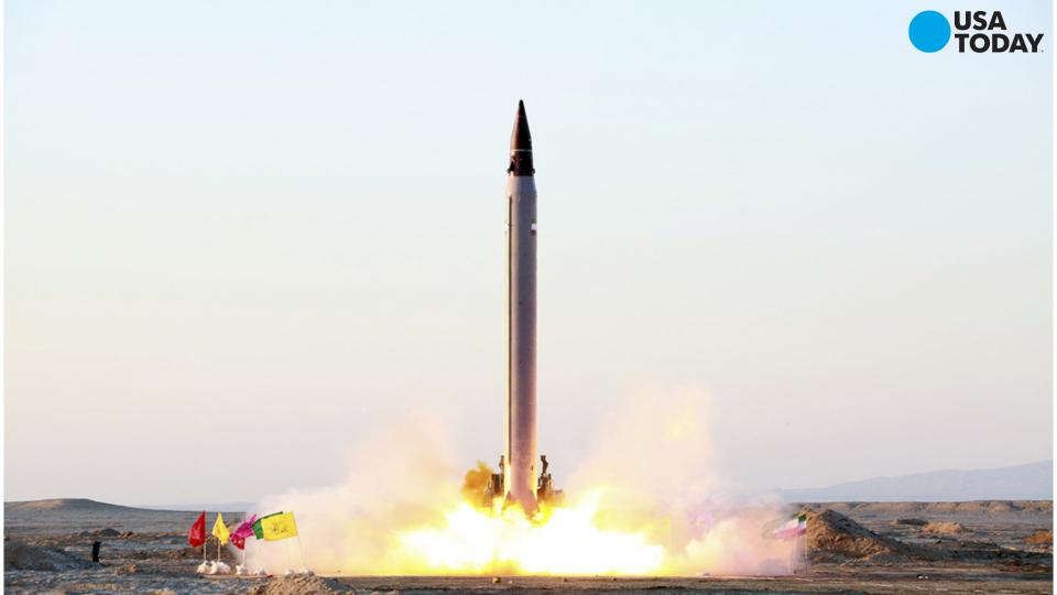 Iran reportedly test fires long-range missile