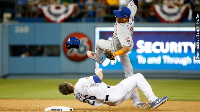 Chase Utley's slide: Illegal or part of the game?