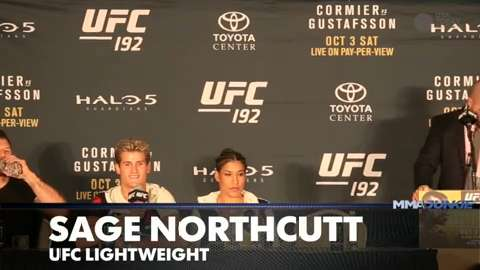 Sage Northcutt contemplates future after dream result at UFC 192