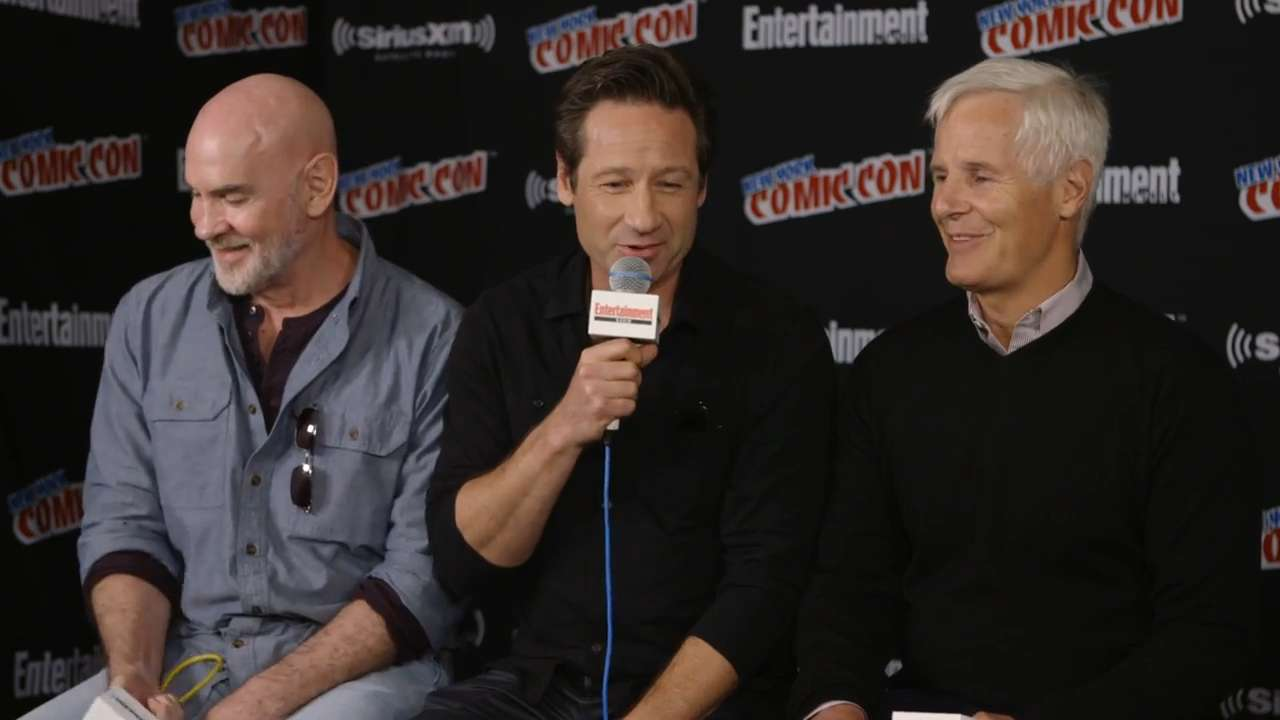 David Duchovny jokes that Mulder is actually the worst cop ever