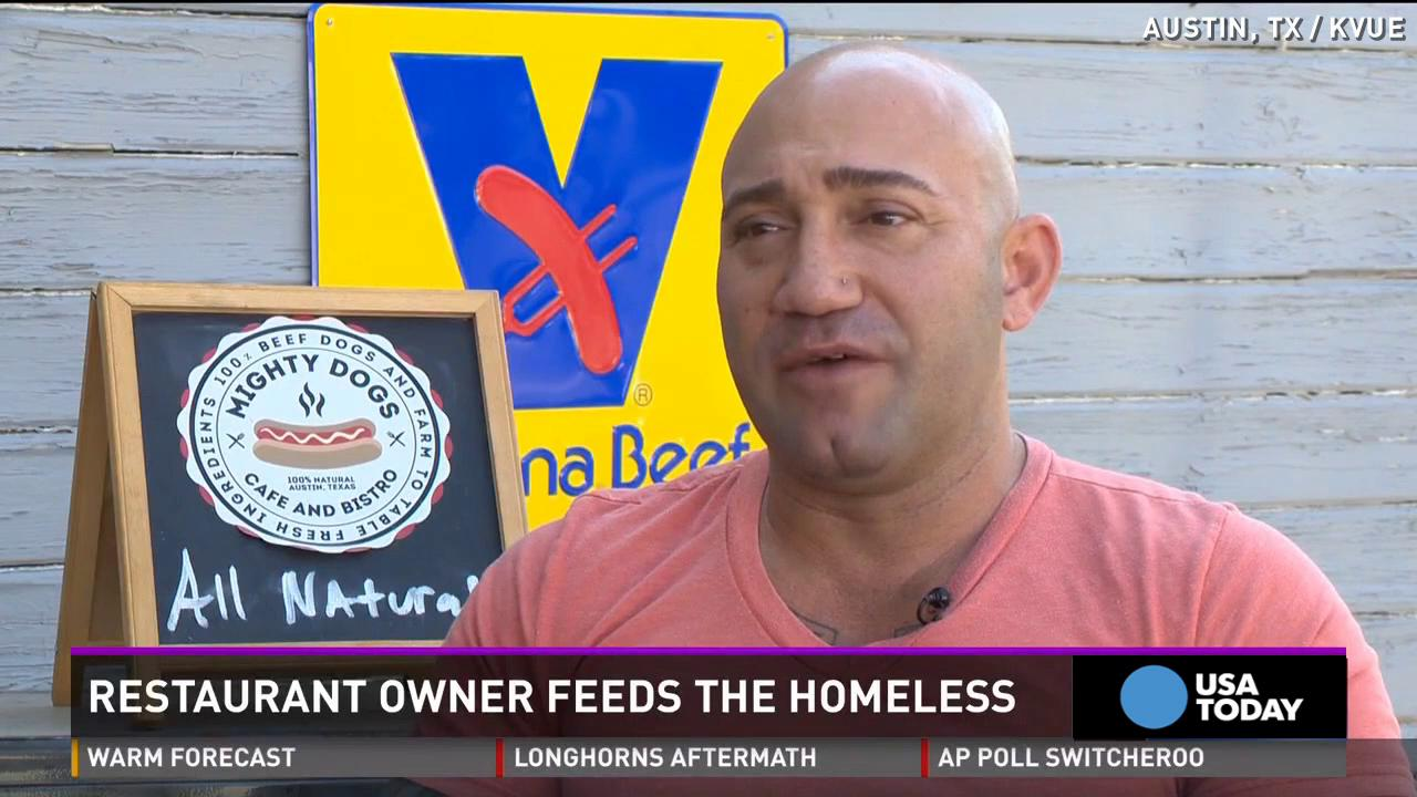 Former oil executive's restaurant delivers to homeless