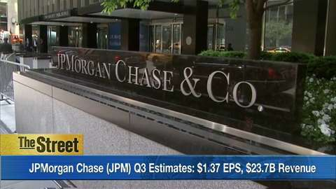 What to watch Tuesday: JPMorgan Chase kicks off bank earnings
