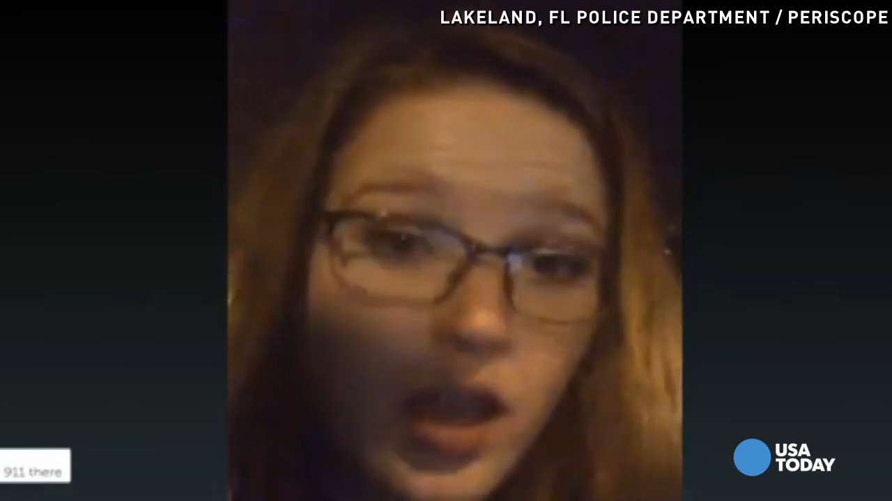 'Drunk' woman Periscopes while driving, gets arrested