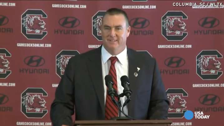 Gamecocks' interim head coach 'thrilled to death'