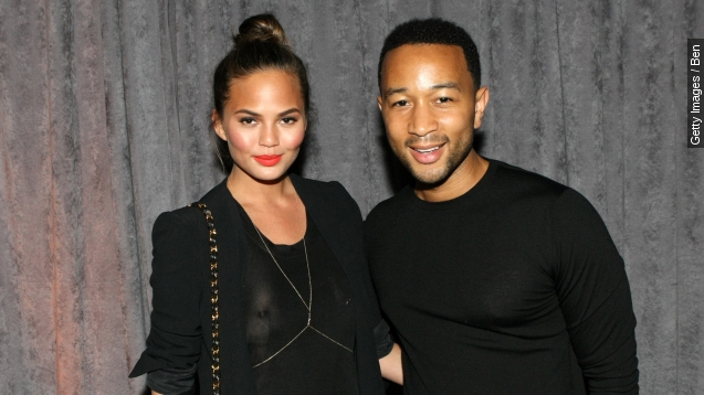 John Legend and Chrissy Teigen are expecting