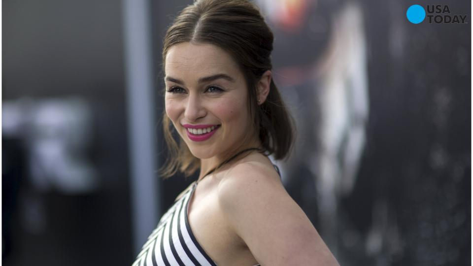 'Esquire' names Emilia Clarke the 'Sexiest Woman Alive'