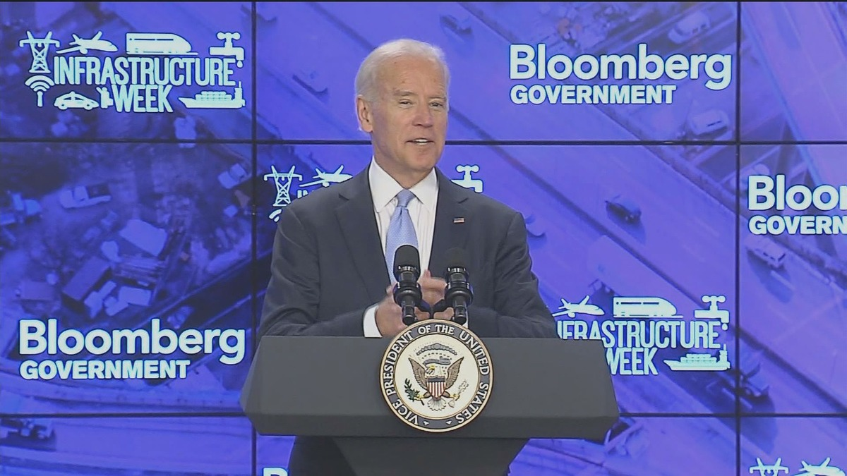 Joe biden presidential bid on quot with all due respect quot bloomberg