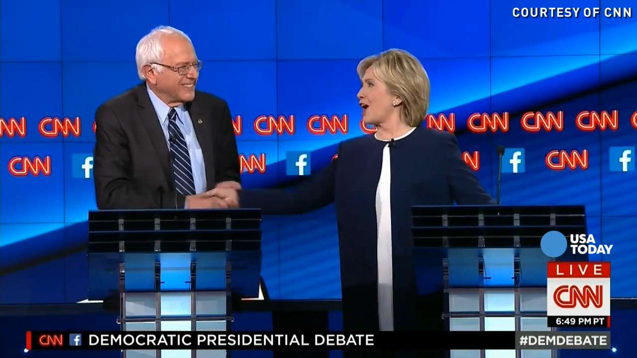 Sanders 'sick and tired' of Clinton's 'damn emails'