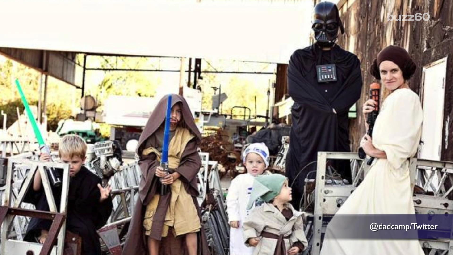 Halloween group costume ideas for the whole family
