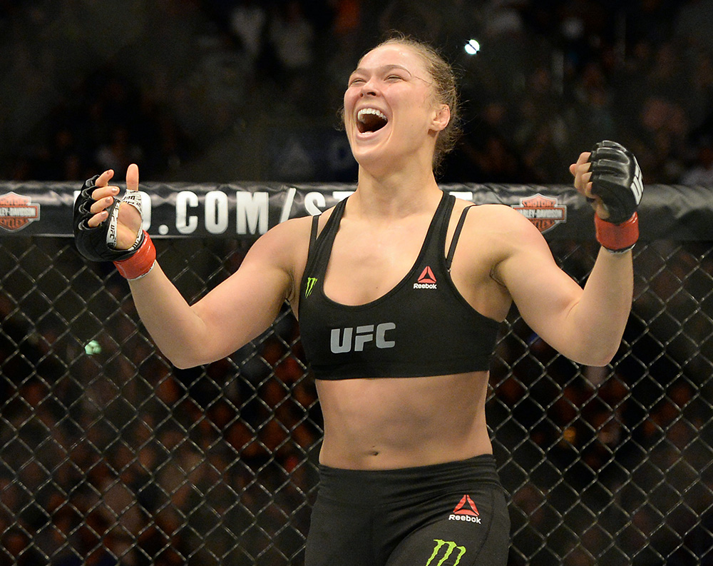 Who is Ronda Rousey?