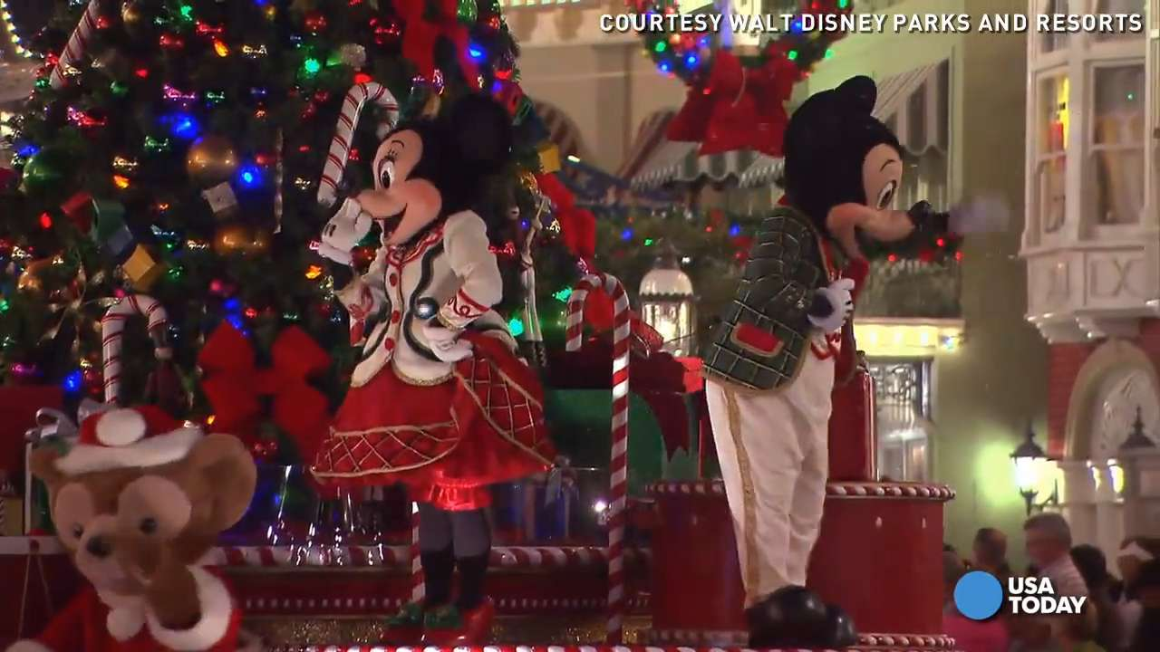 Disney spends all year making your holidays MAGIC!