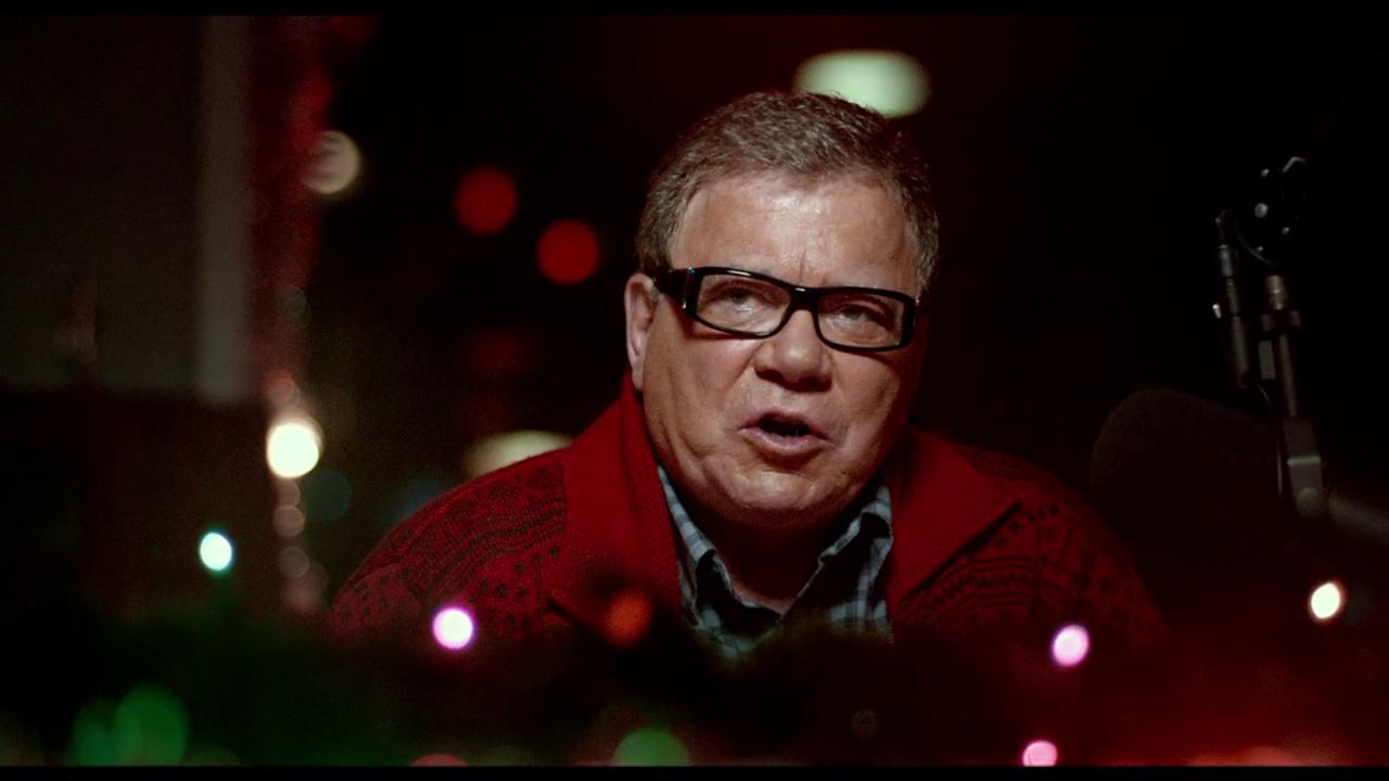 Christmas Horror Story.Exclusive Clip William Shatner In A Christmas Horror Story