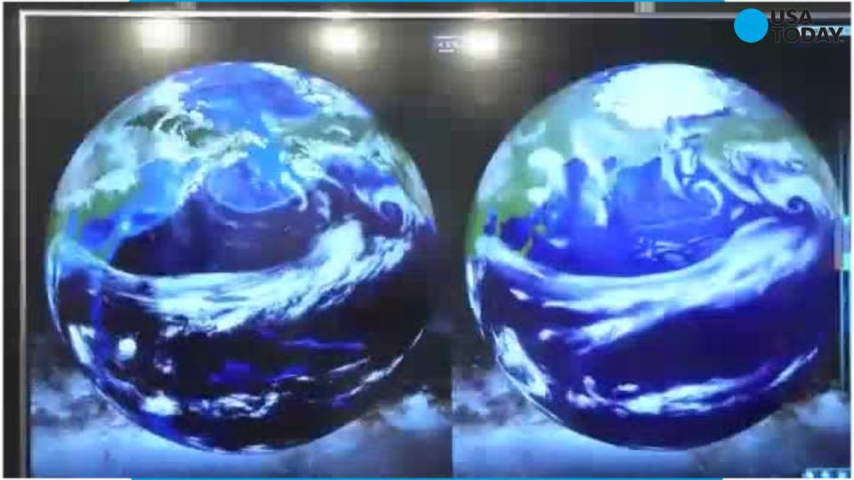 Federal forecasters say El Nino will mean a wet winter for the southern U.S.